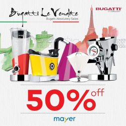 MAYER: 50% OFF All Bugatti Range of Products