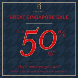Benjamin Barker: Great Singapore Sale up to 50% off