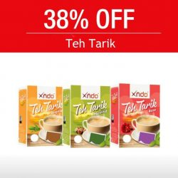 Xndo: 38% OFF TEH TARIK TEA!