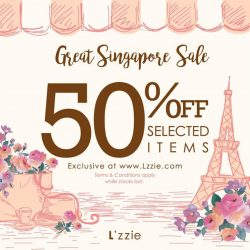 L'zzie: 50% OFF Selected Items Exclusively Online