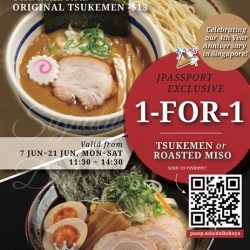 Daikokuya: Robertson Quay outlet 1-for-1 Ramen Promotion