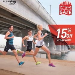 Running Lab: Great Singapore Sale 15% OFF STOREWIDE