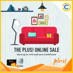 Courts: Enjoy up to 70% OFF at The Plus! Online Sale + $50 OFF when you shop at Courts online