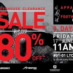 Key Power: Warehouse Clearance Sale Up to 80% OFF on Sports Footwear, Apparel and Accessories