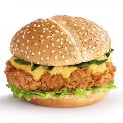 McDonald's: NEW Salted Egg Yolk Chicken Burger!