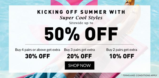 47c7e96e0231 Mdreams  Melissa Summer Sale Sitewide Up to 50% OFF Till 19 Jun 2016 ...