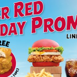 McDonald's: Flash this voucher to get Free 4pc Chicken McNuggets® when you purchase a Super Red Burger