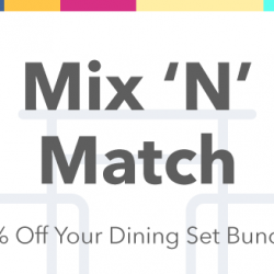 HipVan: Coupon Code for 30% Off Your Dining Set Bundle