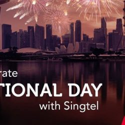 Singtel: Free Mobile Data & Free 140 Channels on National Day