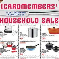 Isetan Scotts: One Day ICardmembers' Household Sale