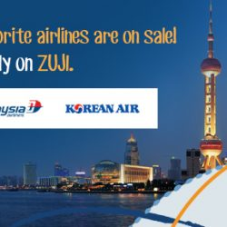 ZUJI: Flash Sale on Singapore Airlines, Malaysia Airlines & Korean Air Flights to Bangkok, Hong Kong, Seoul, London & more!