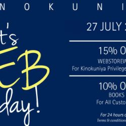 Kinokuniya: Enjoy 10% OFF Books Online for All Customers & 15% OFF Sitewide for Members