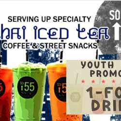 Soi 55: 1-for-1 Drink for Youths (Aged 15 - 35) on Weekdays at the Cathay
