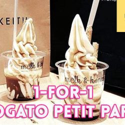 Milk & Honey: 1-for-1 Affogato Petit Parfait at Marina Square
