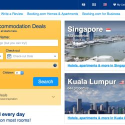 Booking.com: Coupon Code for 10% OFF Your Hotel Booking with UOB Visa Cards