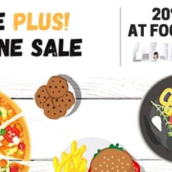 Foodpanda: Coupon Code for 20% OFF + Additional 200 Linkpoints for NTUC Plus! Members
