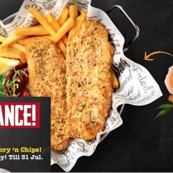 The Manhattan Fish Market: Flash Ad to Enjoy 2 Salted Egg Dory 'n Chips for only $19.90!