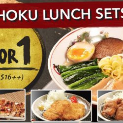 Kotobuki Izakaya: 1-for-1 Teishoku Lunch Sets (Ramen, Chicken Teriyaki, Tonkatsu, Tori Karaage)