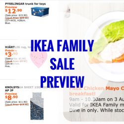 IKEA: One Day Family Sale Preview + Free Breakfast