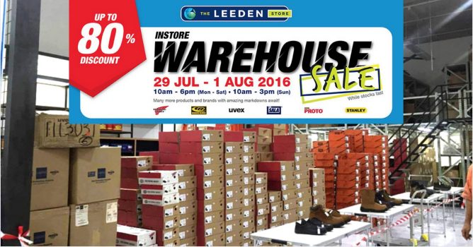 29 Jul - 1 Aug 2016 The Leeden Store  Warehouse Sale Up to 80% OFF Red Wing  Shoes   more! f52197850
