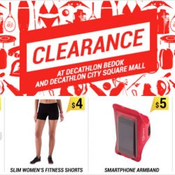 Decathlon: Clearance Sale of over 15,000 Items from $1 at City Square Mall & Bedok