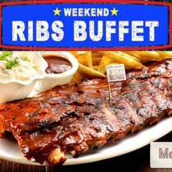 Morganfield's: All-You-Can-Eat Ribs Buffet at $40 Per Person on Weekends