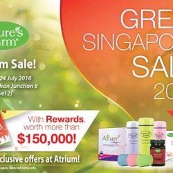 Nature's Farm: Bishan Junction 8 Atrium Sale with more than 50% OFF + Exclusive Offers & more