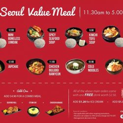 City Square Mall: Irresistible Seoul Value Lunch Deals starting from $9.90++