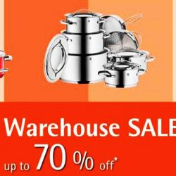 WMF: Warehouse Sale Up to 70% OFF