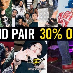 Dr Martens: 2nd Pair at 30% OFF