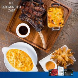 UOB: 15% off with min. S$150 spend at The Disgruntled Chef