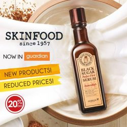 Skinfood: Enjoy 20% off regular prices on all Skinfood items
