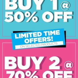 Sasa: Sale up to 70% OFF Brands like Cyber Colors, Suisse Programme, Haruhada & Methode Swiss