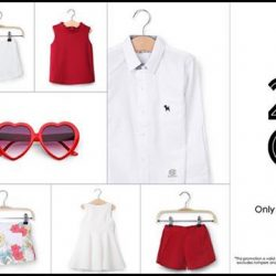 Camouflage Kids: Coupon Code for 25% OFF All Red & White Regular-priced Items