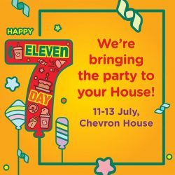 7-Eleven: Pop by Chevron House for free breakfasts, one-for-one deals, sure-win dips & more