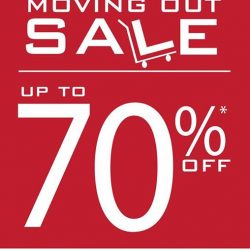 Goldlion: Enjoy up to 70% off at Jurong Point Moving out sale!