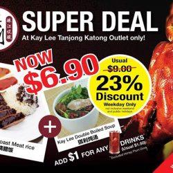 Kay Lee Roast Meat Joint: Set Promotion at $6.90