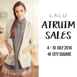 LALU: Atrium Sales at City Square