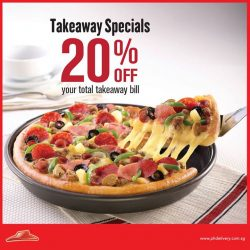 Pizza Hut: Two days left to enjoy 20% off your takeaway order
