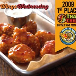 Wing Zone: Enjoy 10% off meals fuzed with Thai Chili