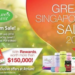 Nature's Farm: VivoCity Atrium Sale with more than 50% off