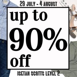 Illamasqua: Enjoy up to 90% off at Isetan Scotts Popup