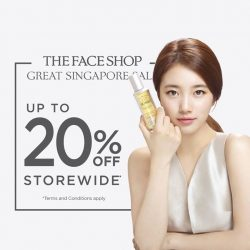 The Face Shop: 20% OFF Storewide GSS Sale