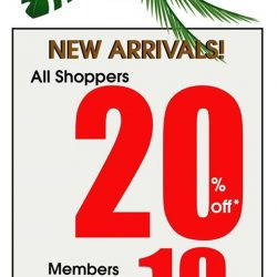 World of Sports: All shoppers get 20% OFF + additional 10% OFF for Members
