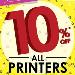 Best Denki: 10% off all printers
