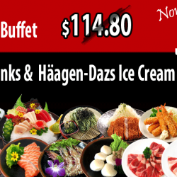 Tenkaichi: Premium Wagyu Beef Buffet with Free Flow Drinks & Häagen-Dazs Ice Cream at 44% OFF