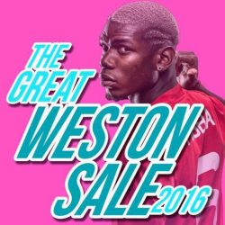 Weston Corp: The Great Weston Sale 2016 on Premium Soccer Boots, Jerseys and Accessories