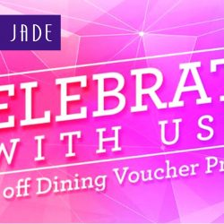Crystal Jade: FREE Jadeite Membership + 25% off $50 Dining Voucher for DBS/POSB Cardmembers