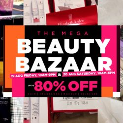 Luxasia: The Mega Beauty Bazaar Warehouse Sale Up to 80% OFF Haircare, Fragrances, Cosmetics & Skincare
