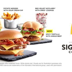 McDonald's: The NEW Signature Collection